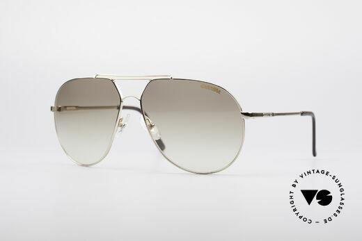 Carrera 5421 90er Piloten Sonnenbrille Details