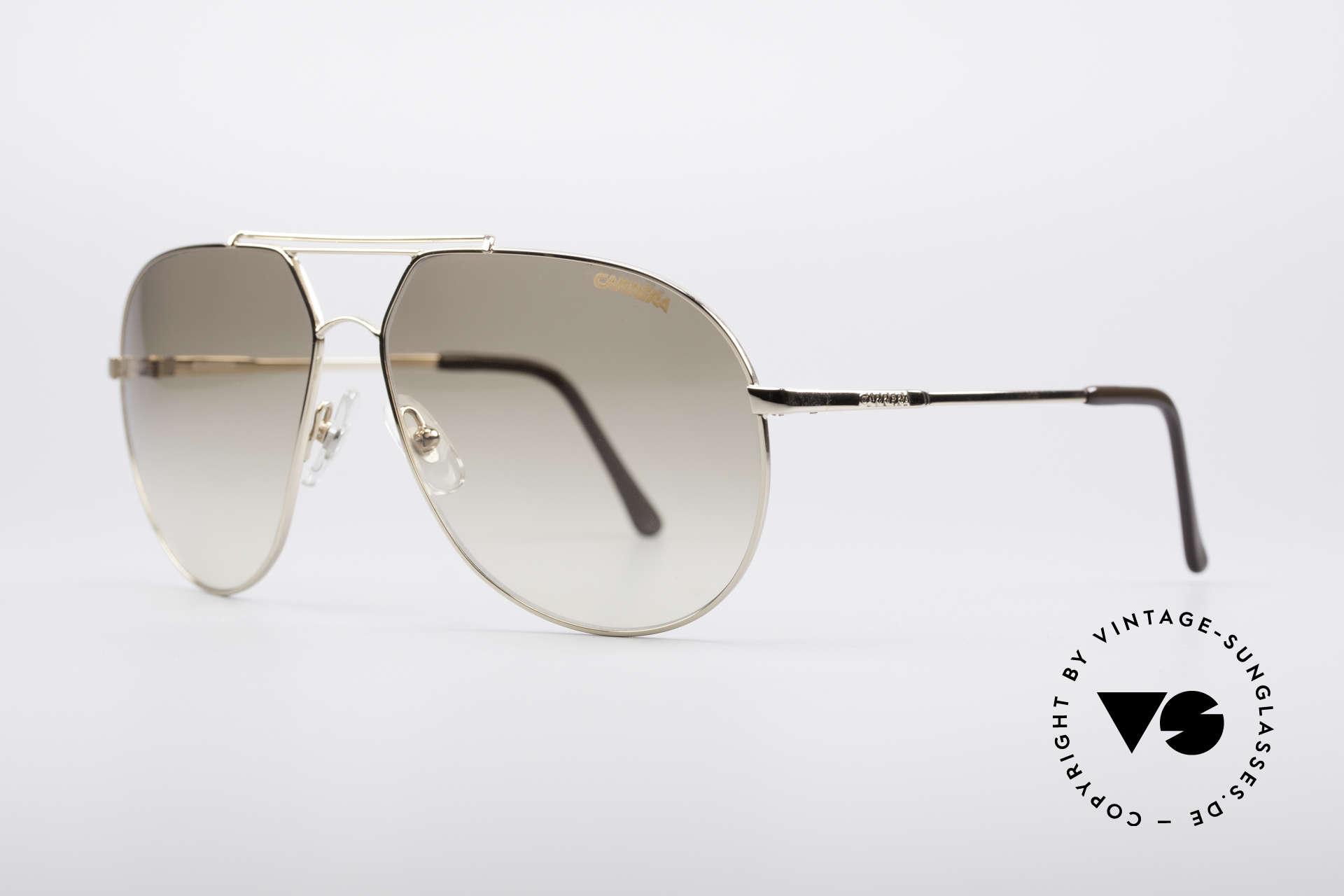 Carrera 5421 90er Piloten Sonnenbrille, mehr 'klassisch' oder 'zeitlos' geht eigentlich nicht, Passend für Herren