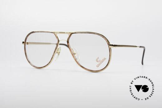 Carrera 5371 Echt 80er Vintage Brille Details