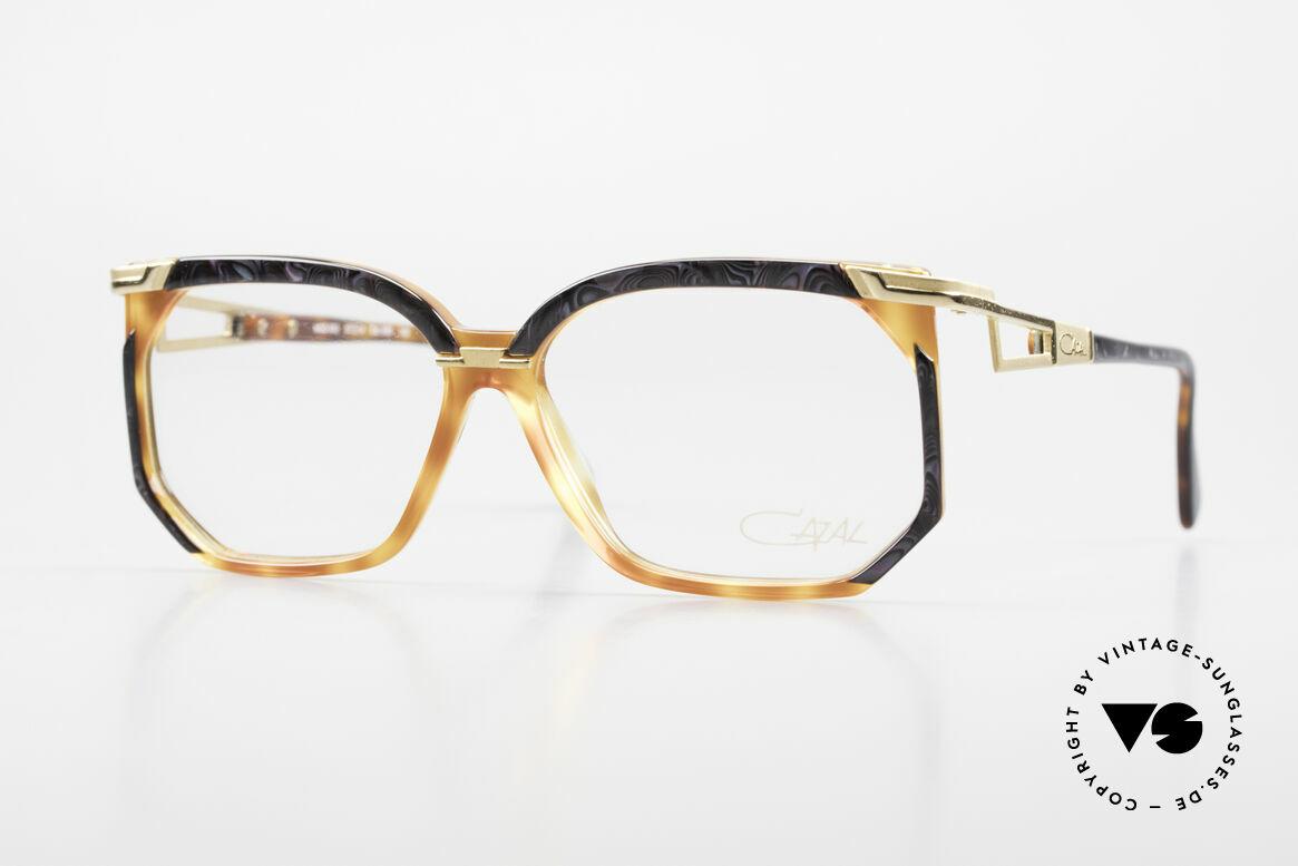 Cazal 333 Echt Vintage HipHop Brille 90s, vintage Cazal Designerbrille aus den frühen 90ern, Passend für Herren und Damen