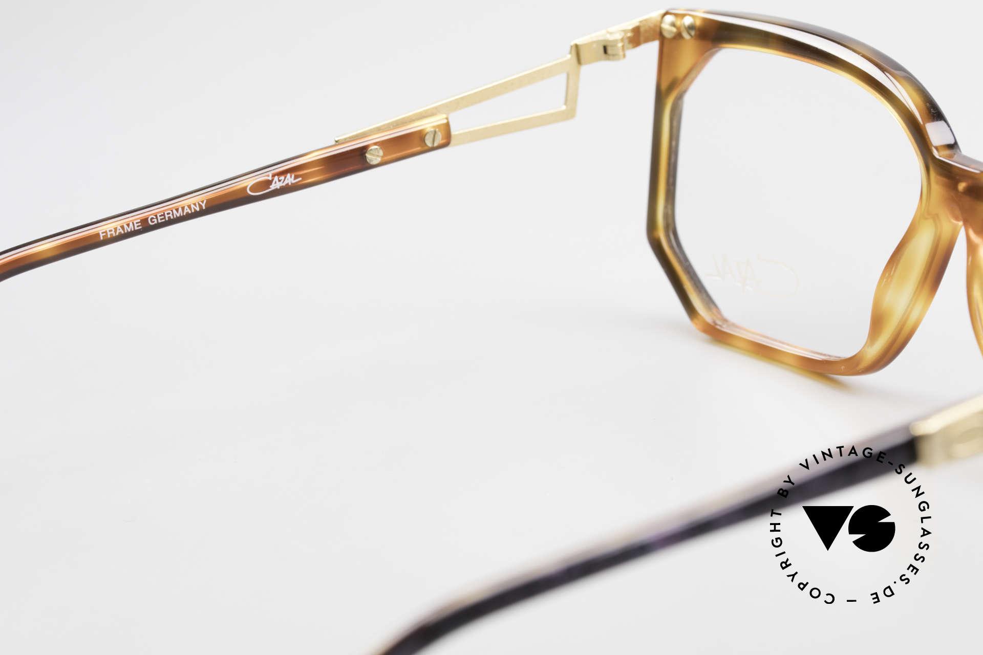 Cazal 333 Echt Vintage HipHop Brille 90s, Cazal Demogläser können beliebig ersetzt werden, Passend für Herren und Damen