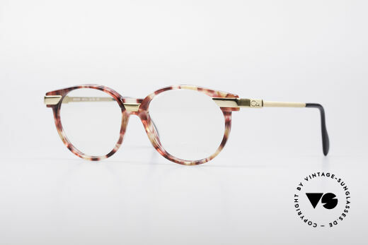 Cazal 338 Kleine Runde Vintage Brille Details