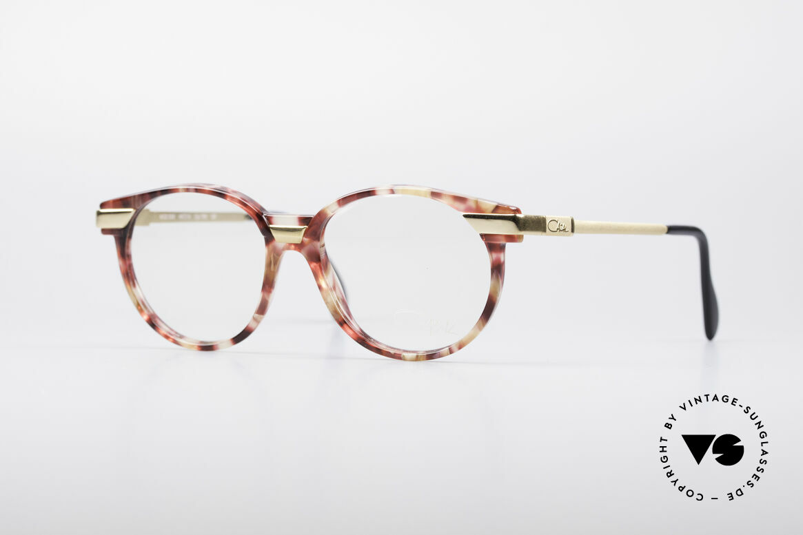 Cazal 338 Kleine Runde Vintage Brille, runde Cazal vintage Brille aus den frühen 90er Jahren, Passend für Herren und Damen