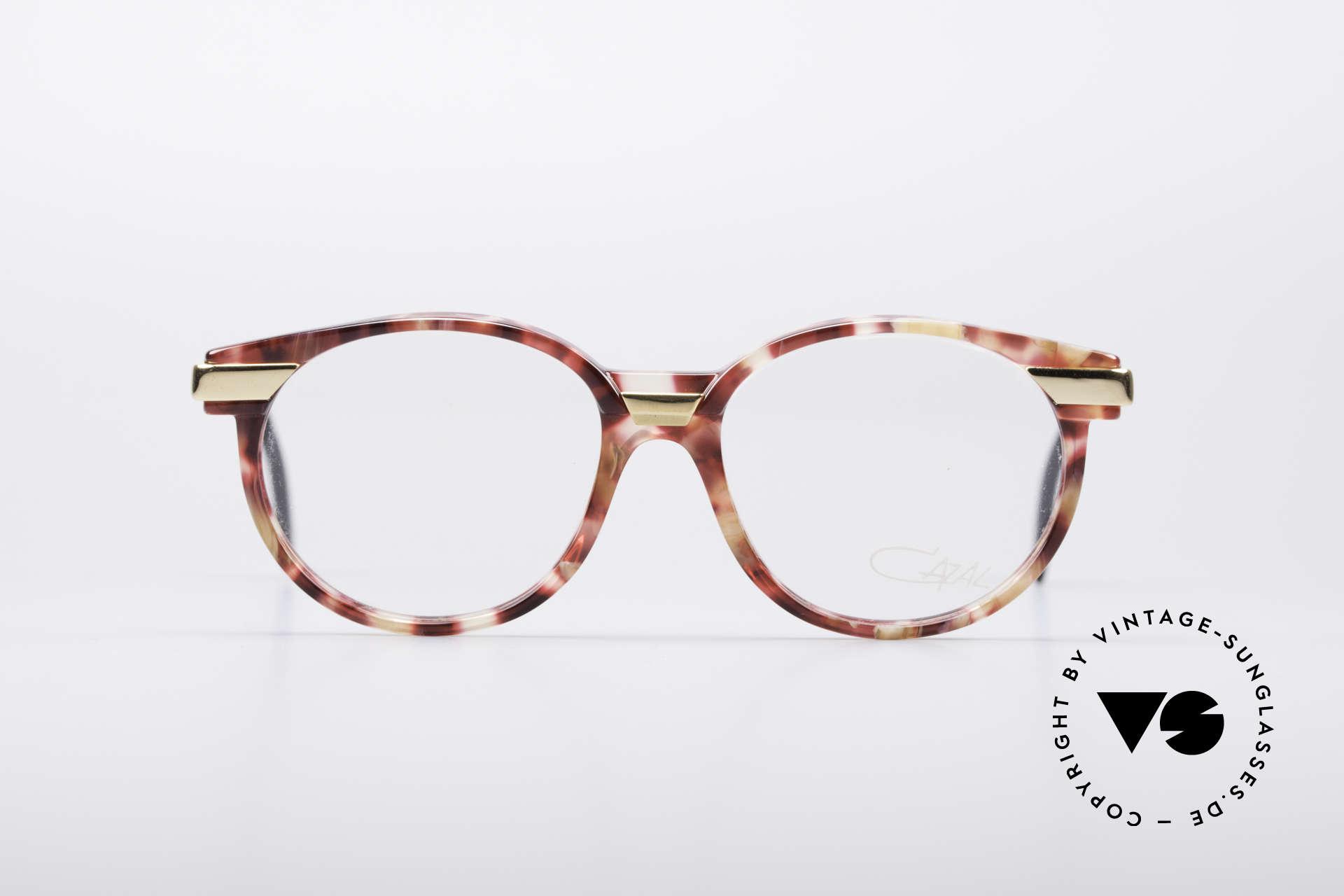 Cazal 338 Kleine Runde Vintage Brille, zeitloses Design & beste Qualität in SMALL Gr. 49/15, Passend für Herren und Damen