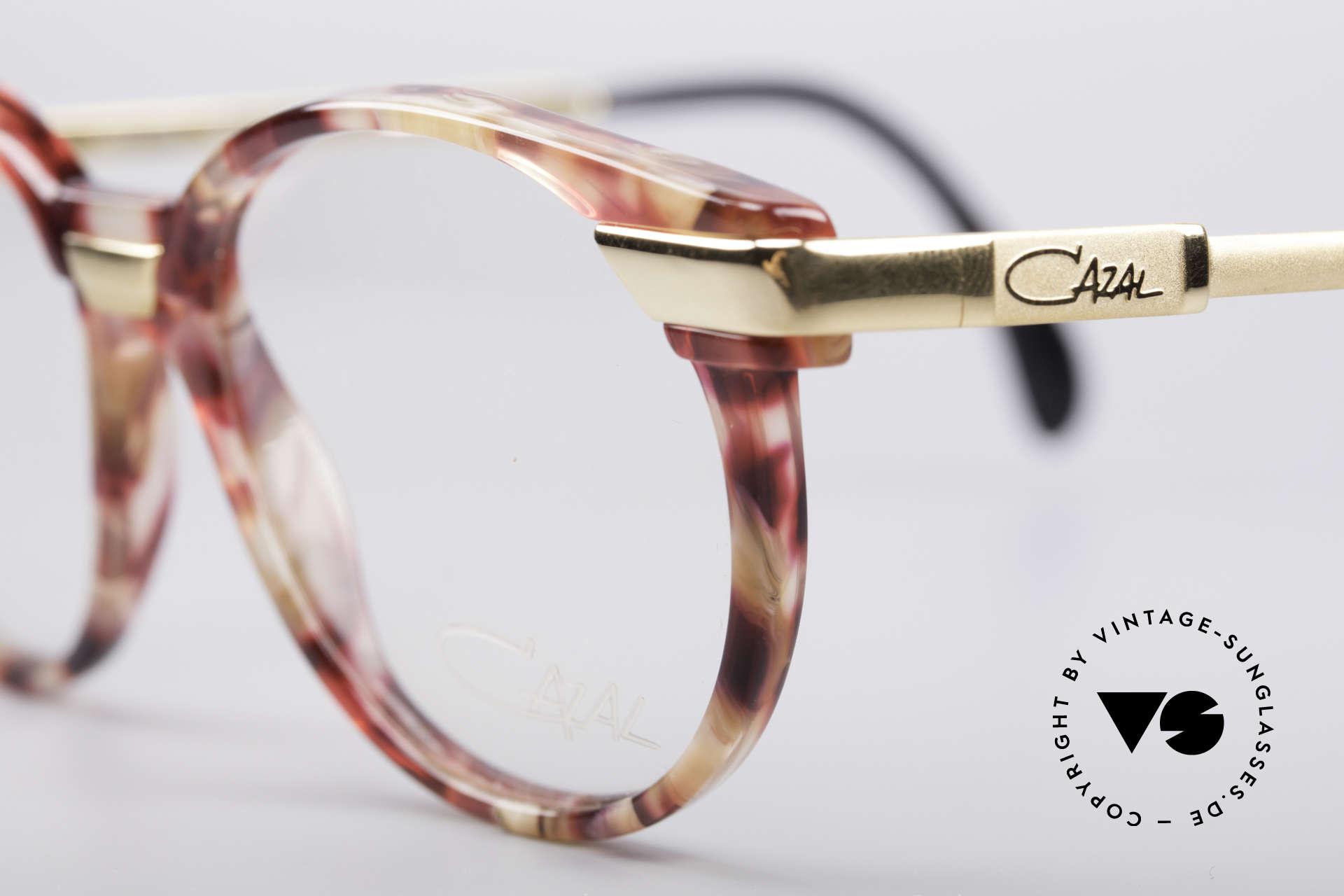Cazal 338 Kleine Runde Vintage Brille, ungetragen (wie alle unsere alten CAZAL ORIGINALE), Passend für Herren und Damen