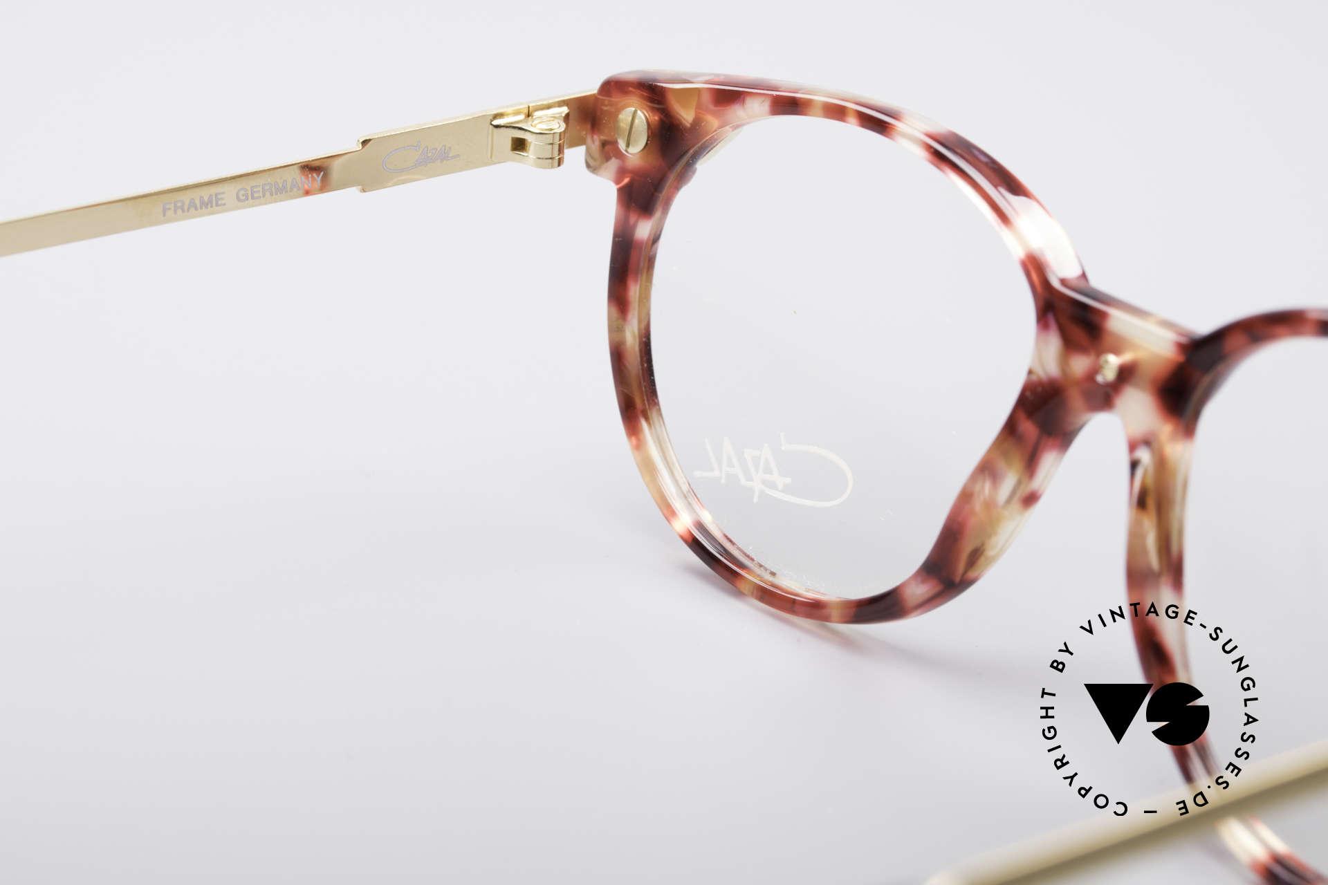 Cazal 338 Kleine Runde Vintage Brille, CAZAL Demogläser können beliebig getauscht werden, Passend für Herren und Damen