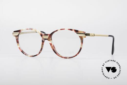 Cazal 338 Runde 90er Vintage Brille Details