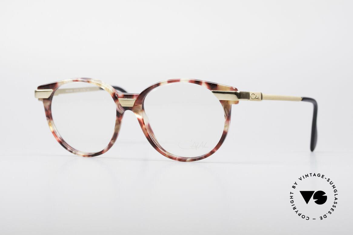 Cazal 338 Runde 90er Vintage Brille, runde Cazal vintage Brille aus den frühen 90er Jahren, Passend für Herren und Damen