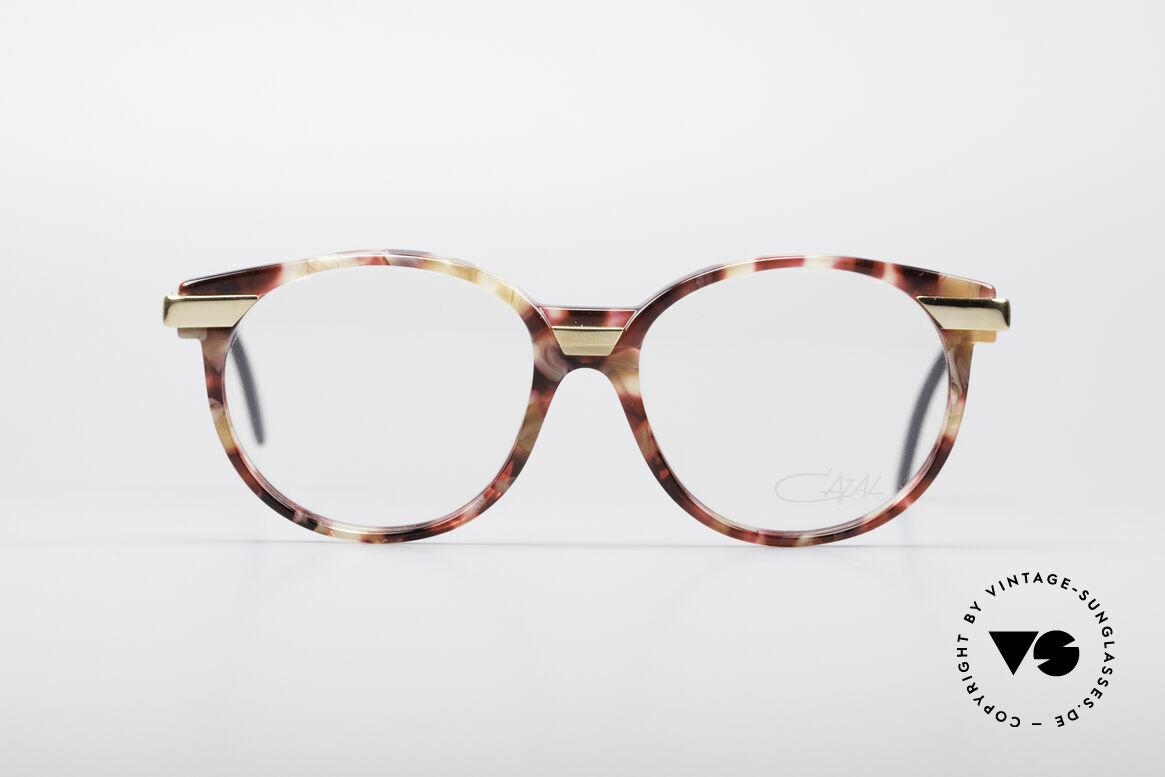 Cazal 338 Runde 90er Vintage Brille, zeitloses Design & beste Qualität; Medium Gr. 51/15, Passend für Herren und Damen