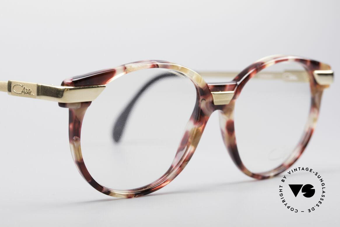 Cazal 338 Runde 90er Vintage Brille, KEINE Retrobrille; sondern ein 25 Jahre altes Unikat, Passend für Herren und Damen