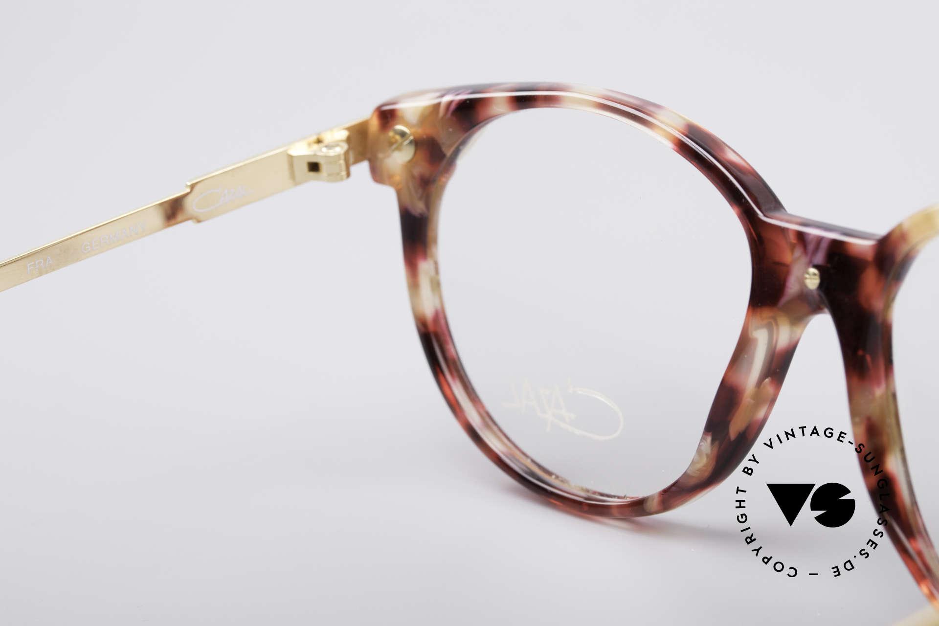 Cazal 338 Runde 90er Vintage Brille, CAZAL Demogläser können beliebig getauscht werden, Passend für Herren und Damen