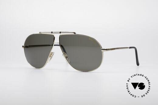 Carrera 5401 80er Pilotensonnenbrille Details