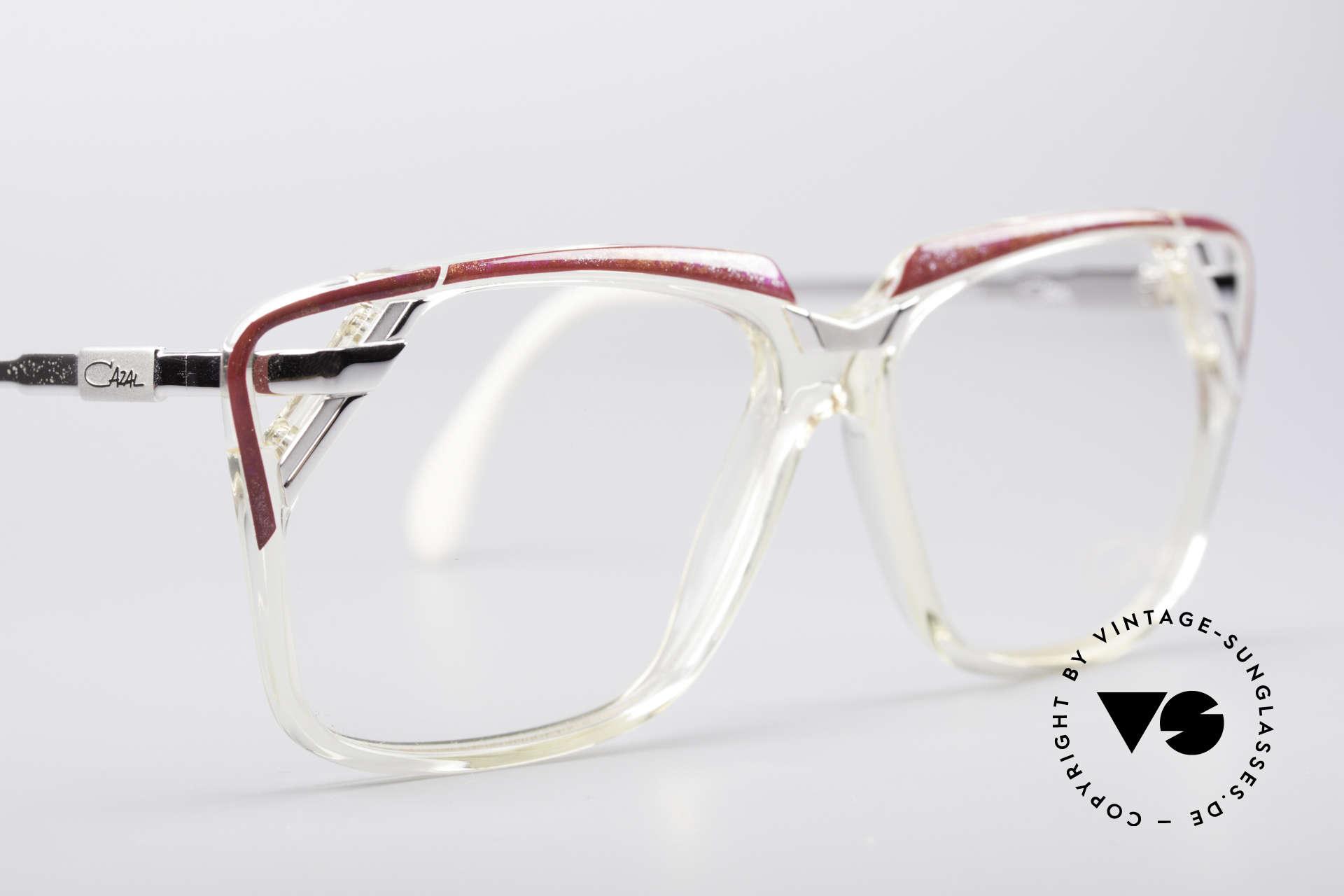 Cazal 342 90er Designerbrille, KEINE Retrobrille; ein seltenes altes Original, Passend für Damen