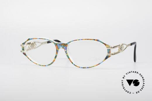 Cazal 356 90er Vintage Designerbrille Details