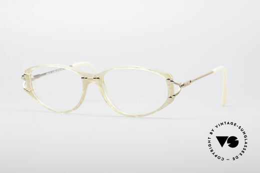 Cazal 375 Perlmutt Vintage Brille Details