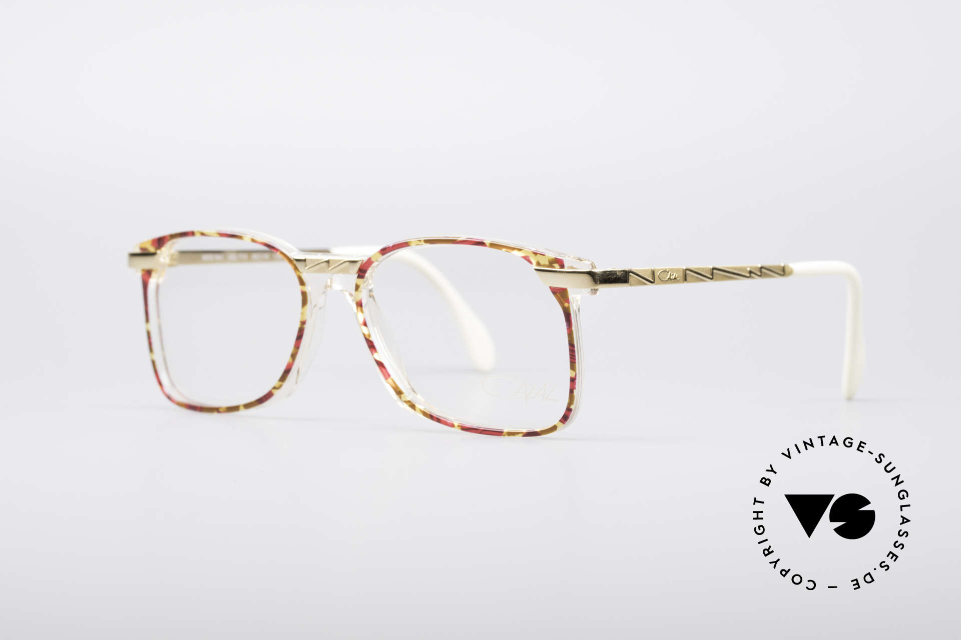 Cazal 341 Vintage No Retro Brille 90er, geniale Trageeigenschaften und Rahmenstabilität, Passend für Damen