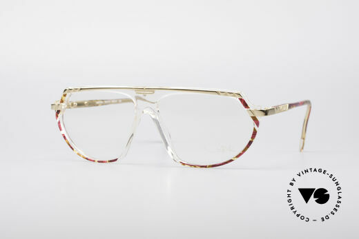 Cazal 344 Crystal Hip Hop Glasses Details