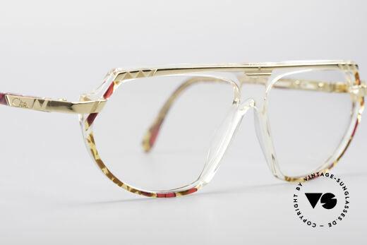 Cazal 344 Old School Kristall Brille, KEINE RETROBRILLE, sondern ein altes ORIGINAL!, Passend für Damen