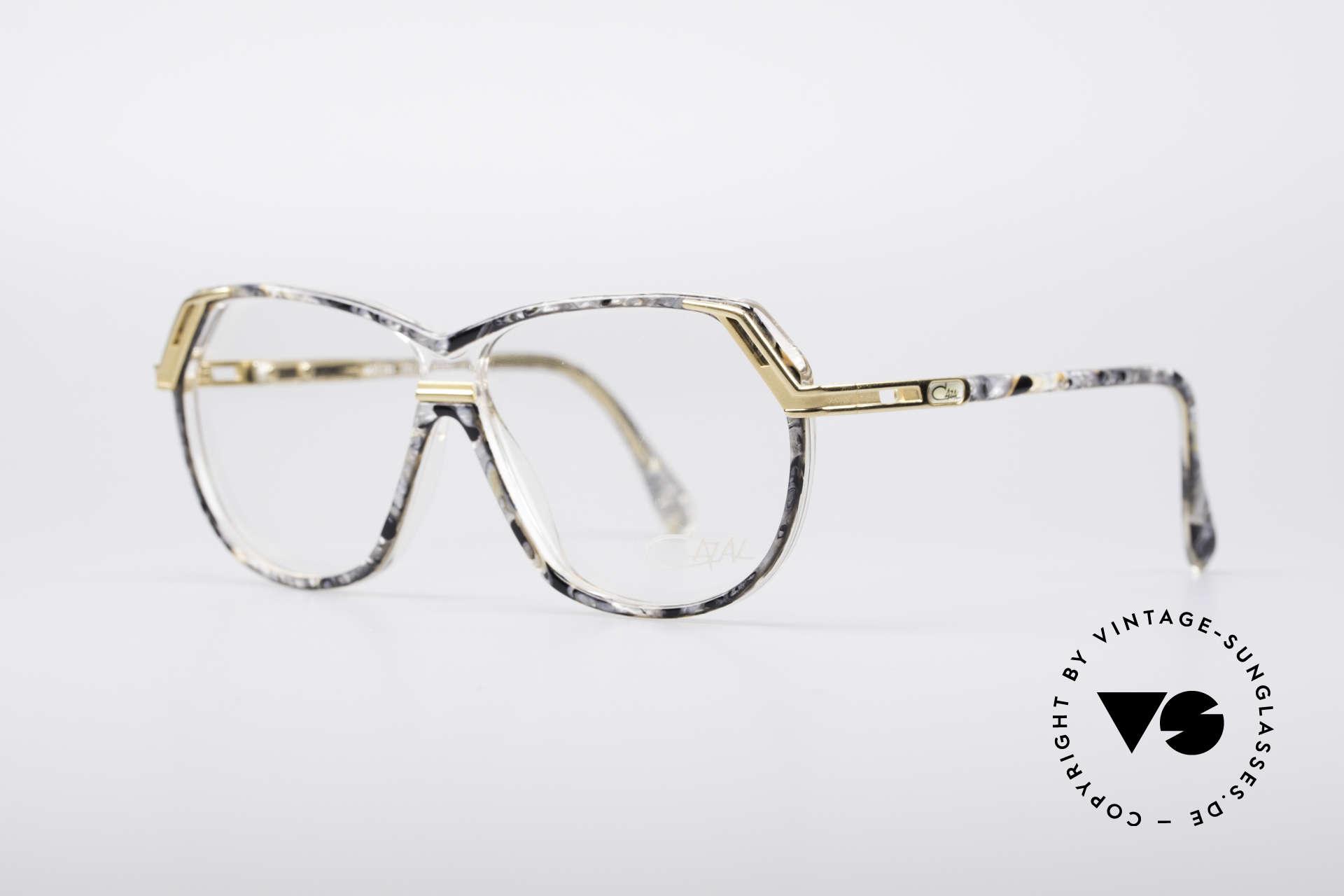 """Cazal 339 No Retro 90er Vintage Brille, wirklich originell und ein echter """"Hingucker"""", Passend für Damen"""