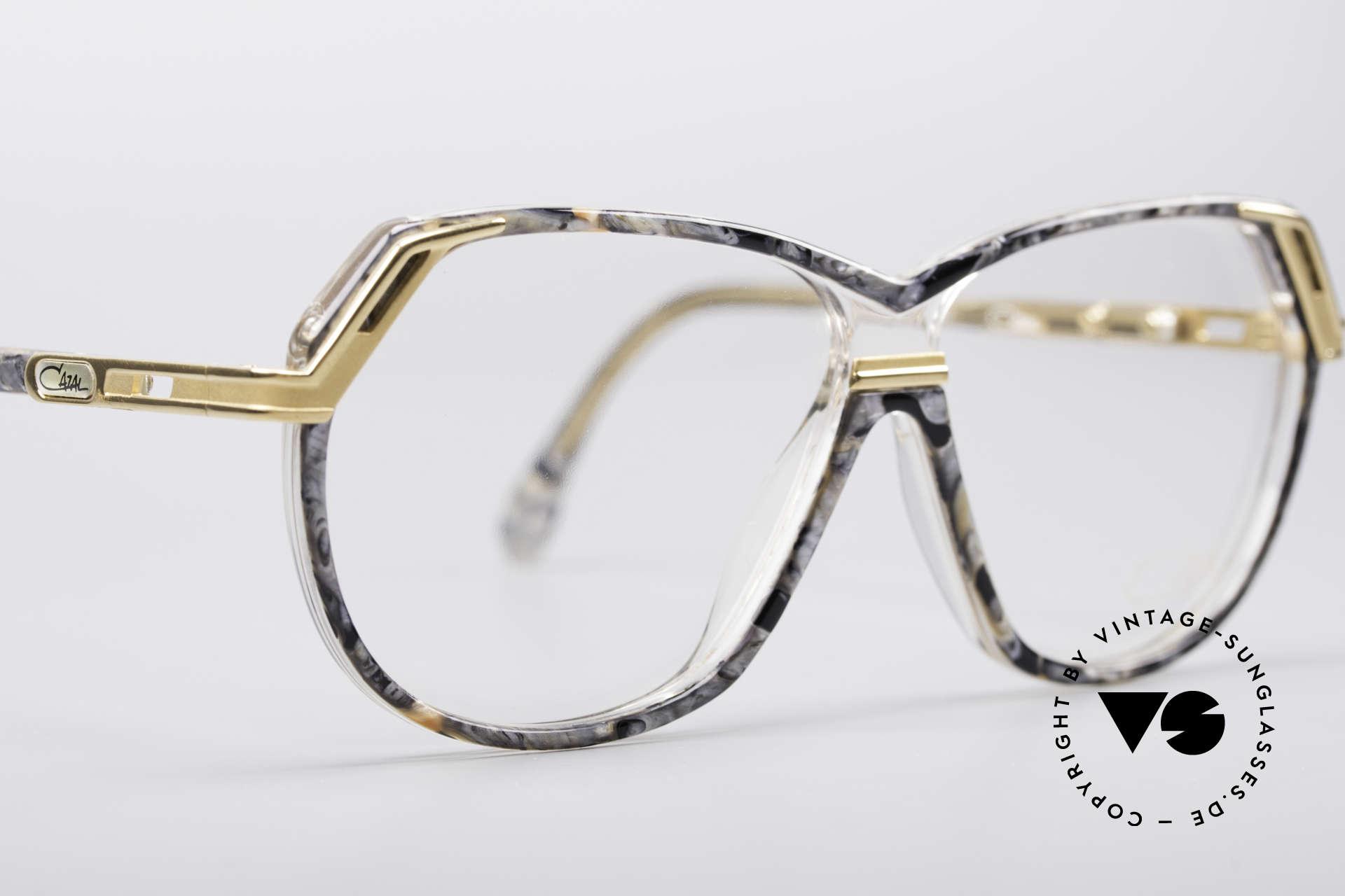 Cazal 339 No Retro 90er Vintage Brille, Modell (M Größe 56/10) ist beliebig verglasbar, Passend für Damen