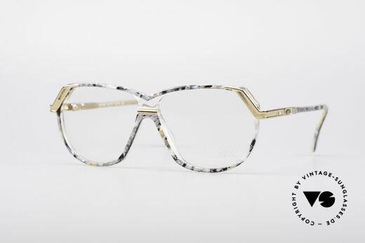 Cazal 339 90er Vintage Designer Brille Details