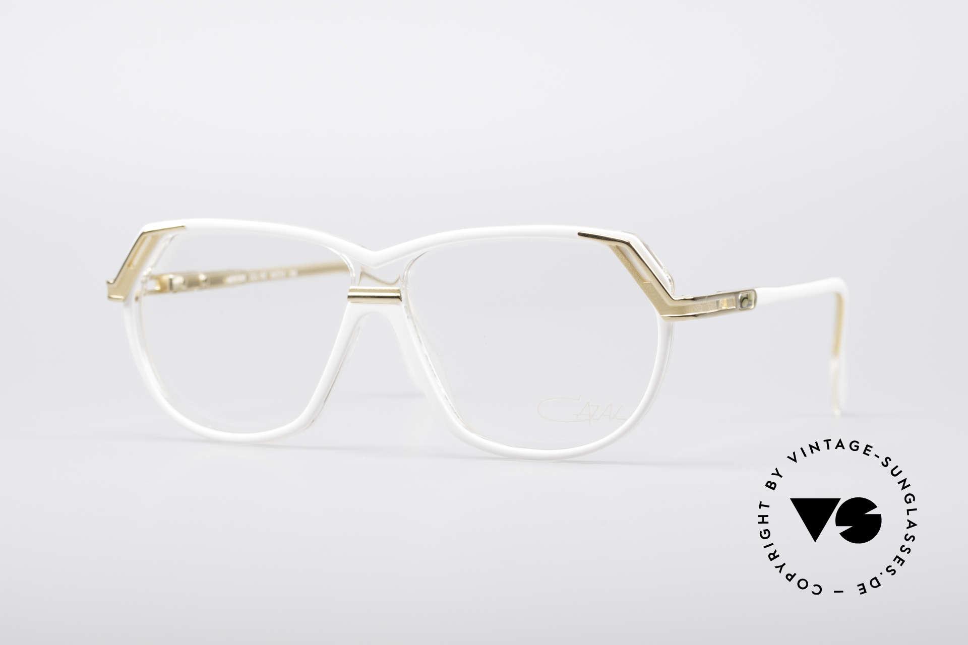 Cazal 339 90er Vintage Designer Brille, grandiose Cazal Designerbrille aus den 90ern, Passend für Damen
