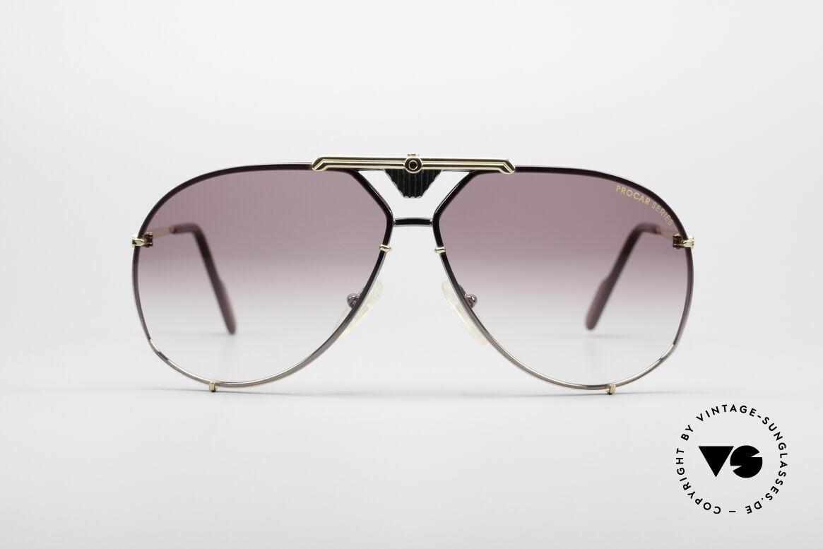 Alpina PC201 ProCar Serie Sonnenbrille, ALPINA Brille aus der legendären ProCar-Series, Passend für Herren
