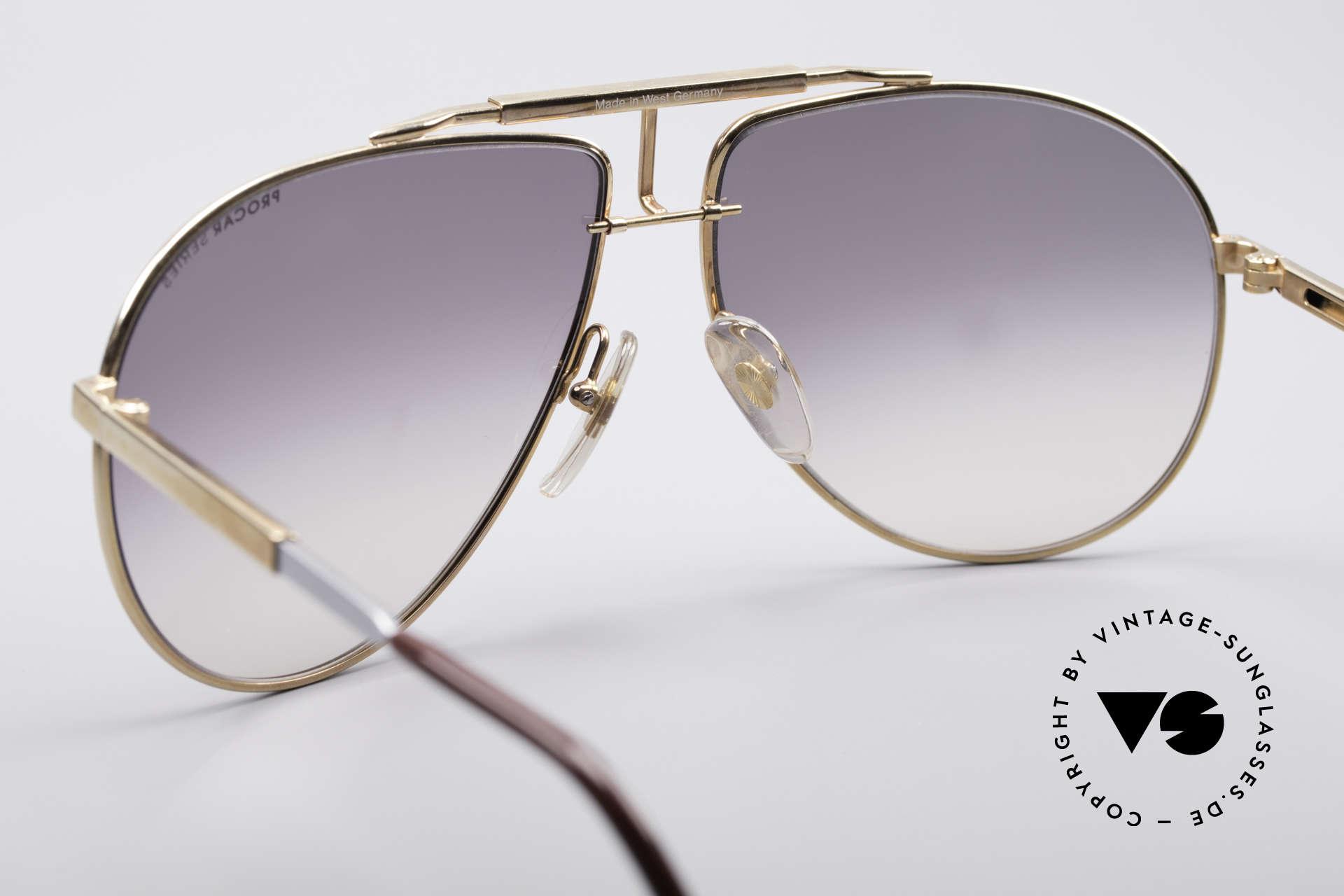 Alpina PC701 Verstellbare Brillenfassung, enorm hochwertig und selten; eine echte Rarität, Passend für Herren
