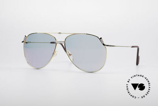 Alpina PG 902 Vintage Golf Sonnenbrille Details