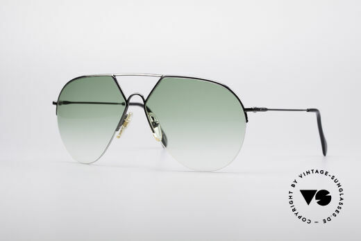 Alpina TR3 Style 80er Pilotensonnenbrille Details