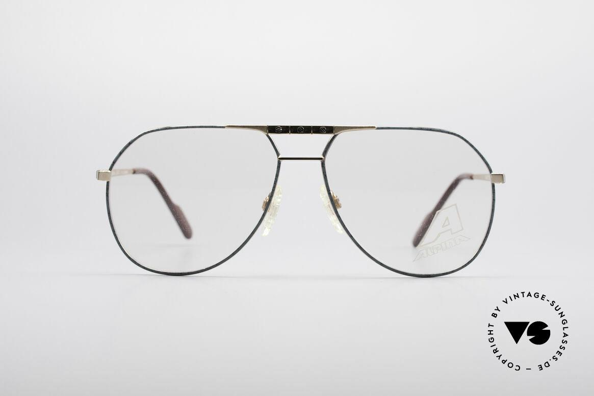 Alpina FM27 Alte Vintage Pilotenbrille