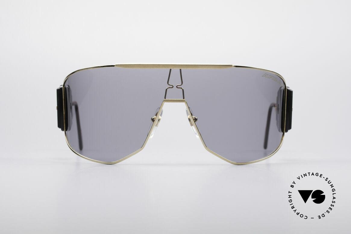 Alpina Goldwing 80er Promi Vintage Brille, Goldwing - das meistgesuchte Alpina vintage Modell, Passend für Herren und Damen