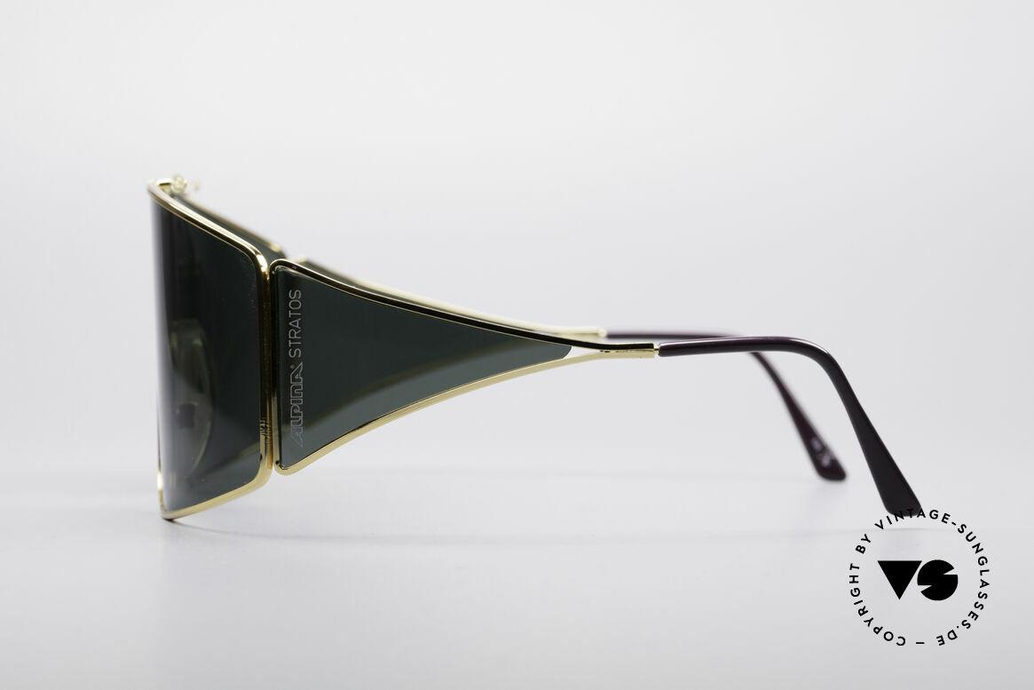 Alpina Stratos Polarisierende Vintage Brille, ungetragen (wie all unsere vintage Alpina Brillen), Passend für Herren