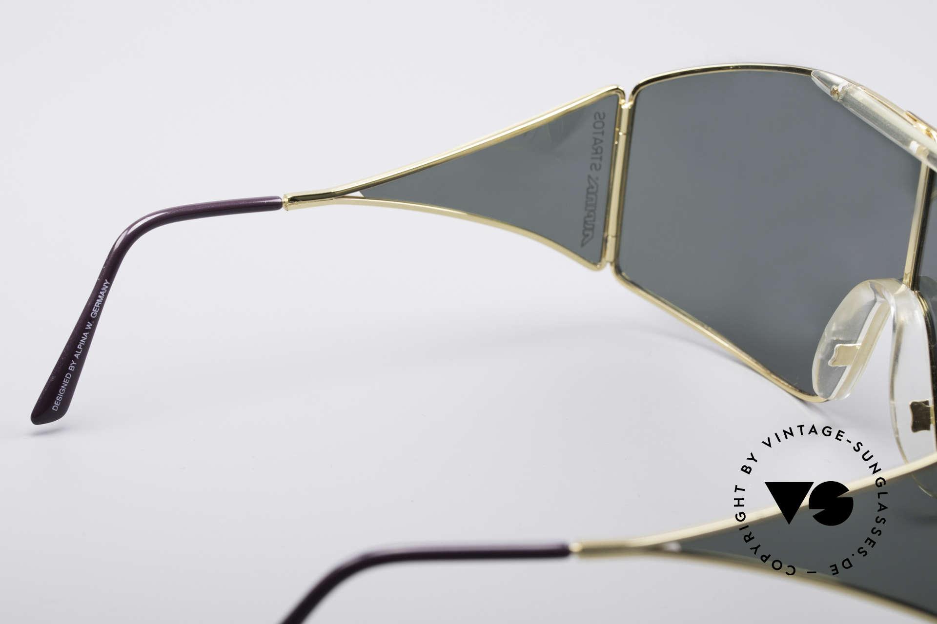 Alpina Stratos Polarisierende Vintage Brille, KEINE retro Brille, sondern ein altes 80er Original, Passend für Herren