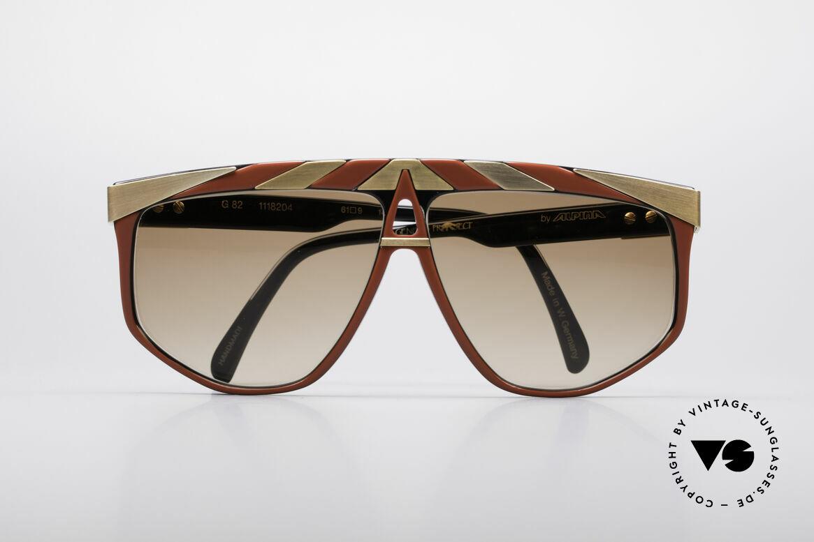 Alpina G82 Vergoldete Vintage Brille
