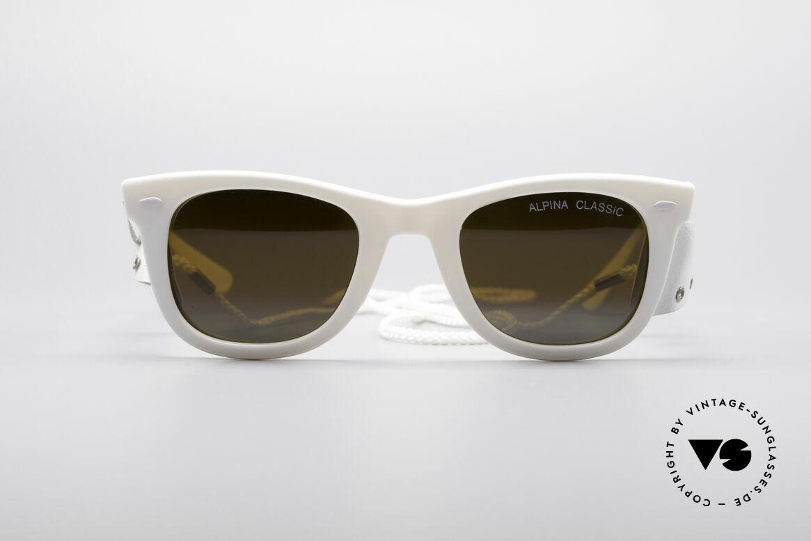 Alpina Classic Vintage Ski Sonnenbrille, vintage Ski- und Sportsonnenbrille von ALPINA, Passend für Herren und Damen