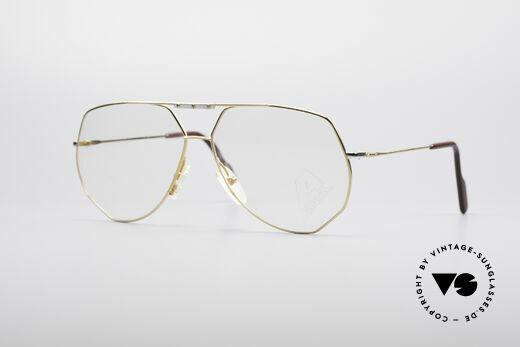 Alpina FM78 Alte Vintage Pilotenbrille Details
