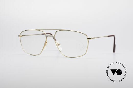 Alpina FM80 Klassische 80er Vintage Brille Details