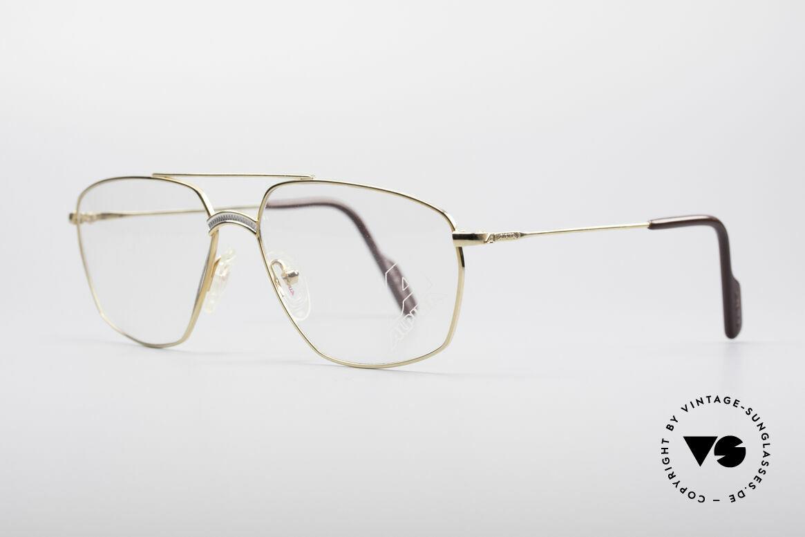 """Alpina FM80 Klassische 80er Vintage Brille, höchste Verarbeitungsqualität; """"Frame W.Germany"""", Passend für Herren"""