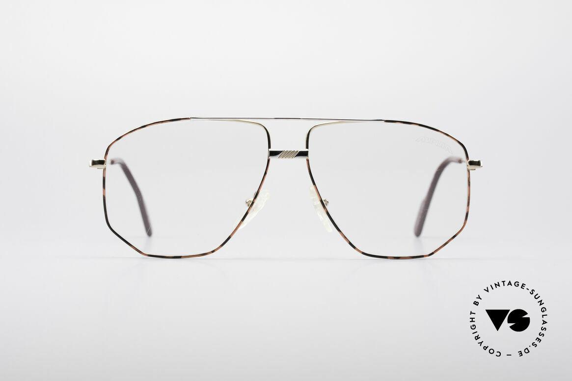 Alpina FM66 90er Vintage Metallfassung, große Alpina Metall-Brillenfassung aus den 90ern, Passend für Herren