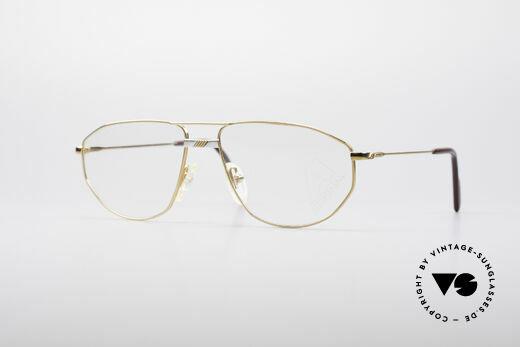 Alpina FM41 Klassische 80er Brillenfassung Details