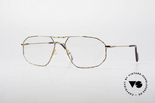 Alpina FM48 Klassische 80er Brillenfassung Details