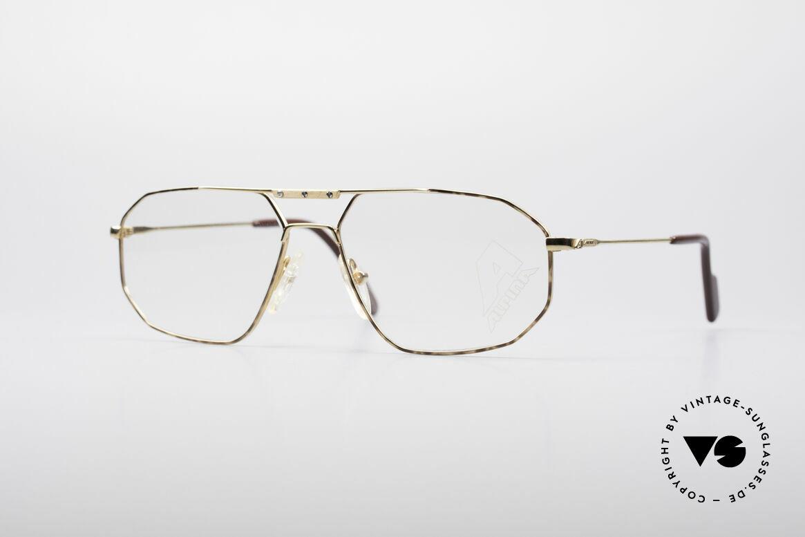 Brillen Alpina FM48 Klassische 80er Brillenfassung | Vintage Sunglasses