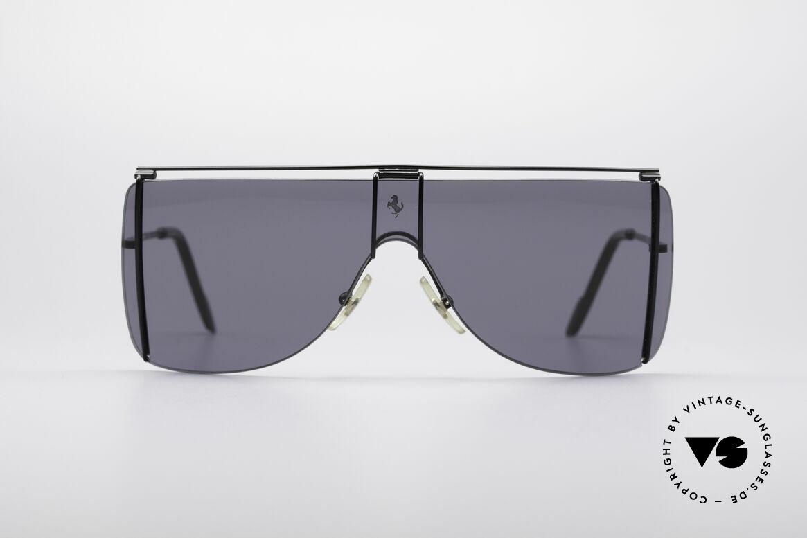 Ferrari F20 Luxus Sport Sonnenbrille, 90er Luxus Sport-Sonnenbrille von Ferrari, Passend für Herren