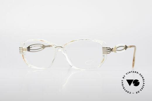 Cazal 373 Echte 90er Brillenfassung Details