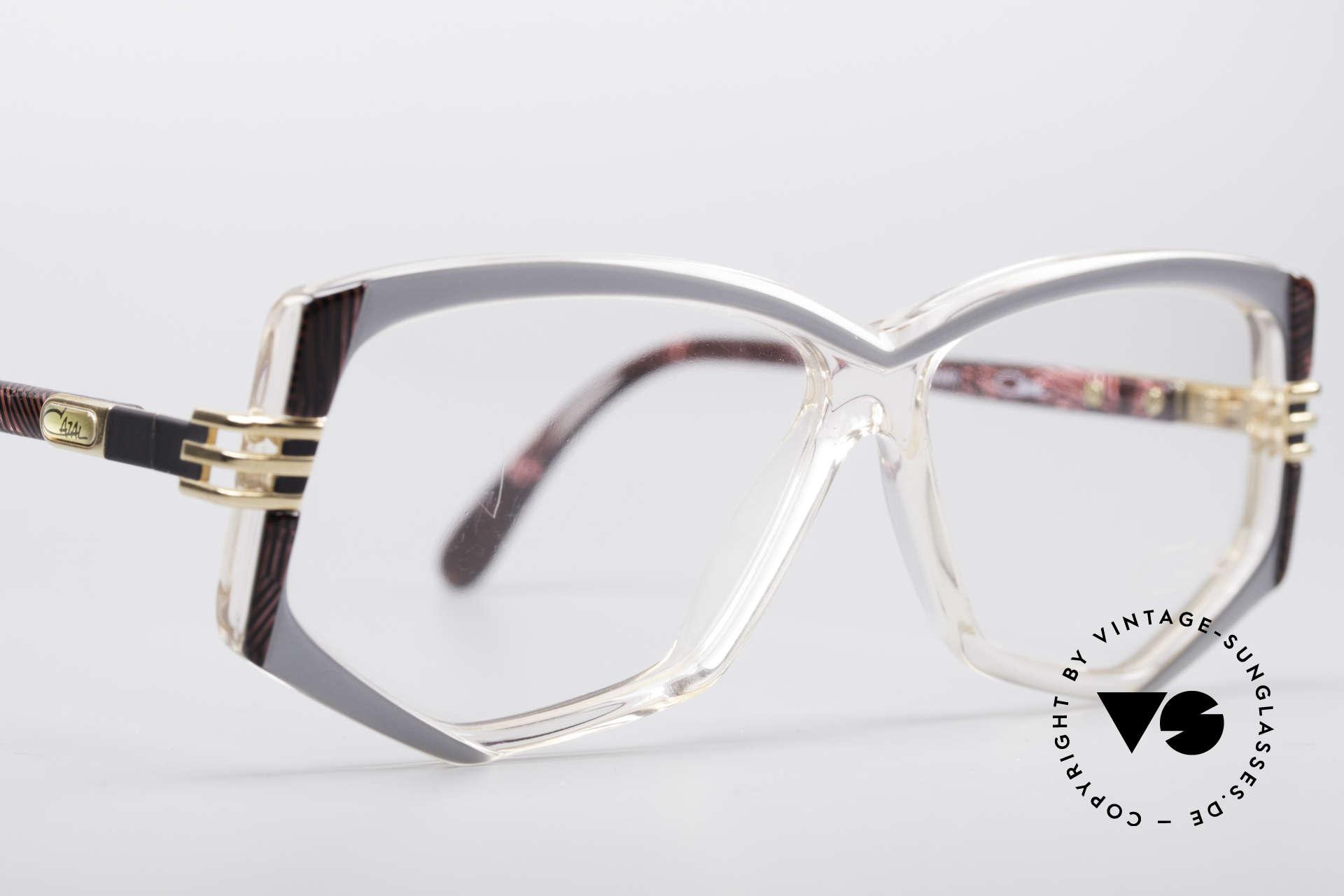 Cazal 322 80er West Germany Cazal, KEINE retro Brille; ein altes Original von ca. 1987, Passend für Damen
