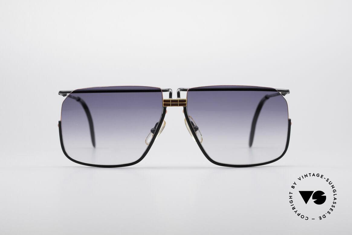 Ferrari F18 80er Herren Sonnenbrille, markante 80er Jahre vintage Sonnenbrille von FERRARI, Passend für Herren