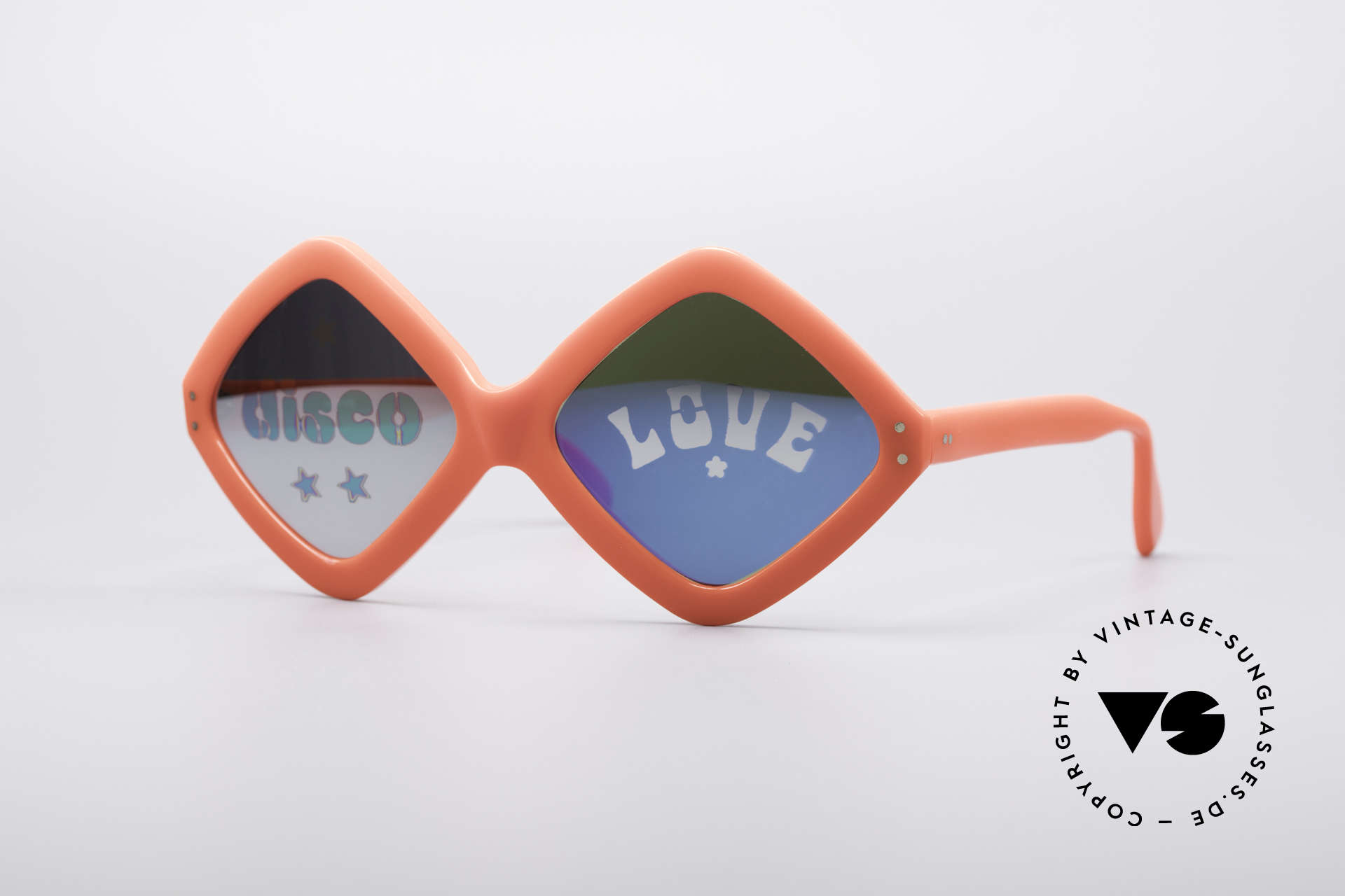 Neostyle Disco And Love Sonnenbrille, NEOSTYLE Disco & Love Sonnenbrille von 1972, Passend für Damen