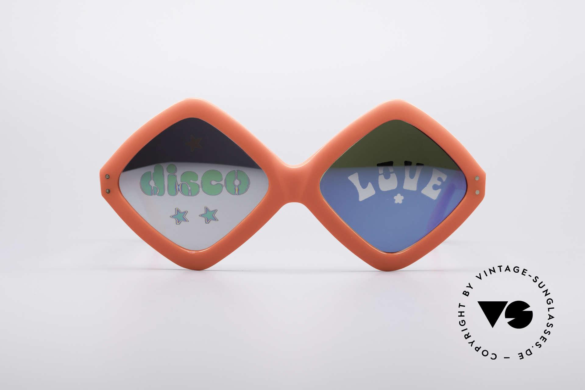"""Neostyle Disco And Love Sonnenbrille, mehr als nur eine vintage """"Hippie-Sonnenbrille', Passend für Damen"""