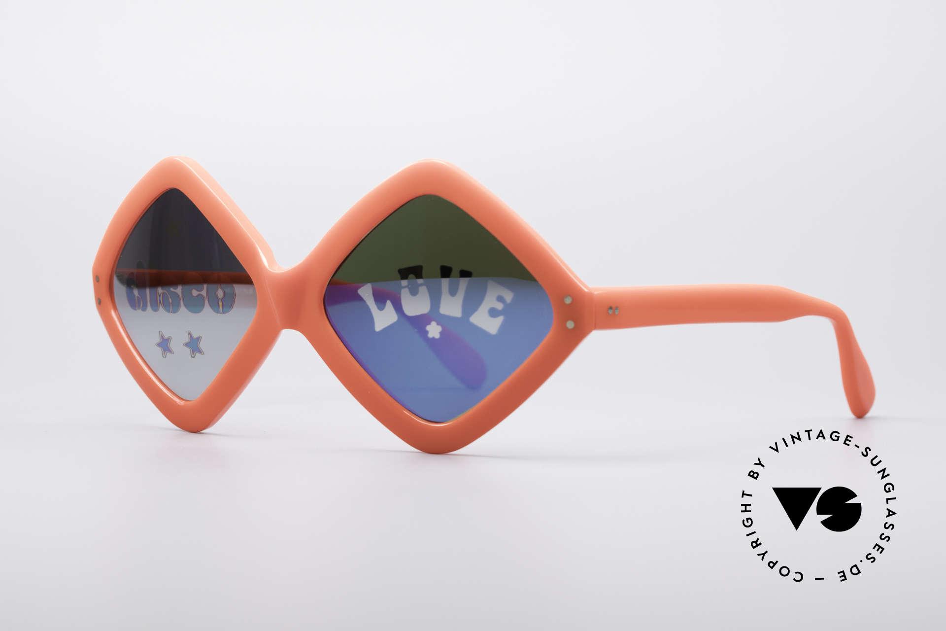Neostyle Disco And Love Sonnenbrille, Designerstück & Modegeschichte gleichermaßen, Passend für Damen